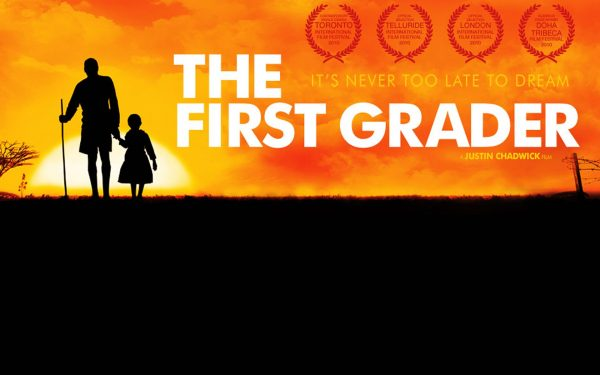 First Grader is based on the true story of 84 year-old Kimani Maruge (Litondo), a Kenyan freedom fighter who goes back to school in order to learn to read.
