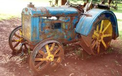 When I stumbled on a 1922 Fordson F tractor at the Karen Blixen Museum in Nairobi, I could not believe my eyes. Right there before me was a piece of engineering heritage.