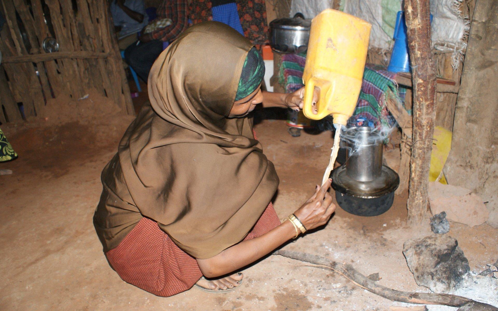 2 Ways you can preserve food in Northern Kenya: Smoking Milk