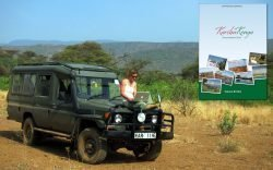 Tamara Britten took-off on a solo journey around Kenya in a borrowed land cruiser, accompanied by her trusty laptop, to produce Karibu Kenya Accommodation Guidebook, the most comprehensive guidebook in Kenya endorsed by the Kenya Tourism Board.
