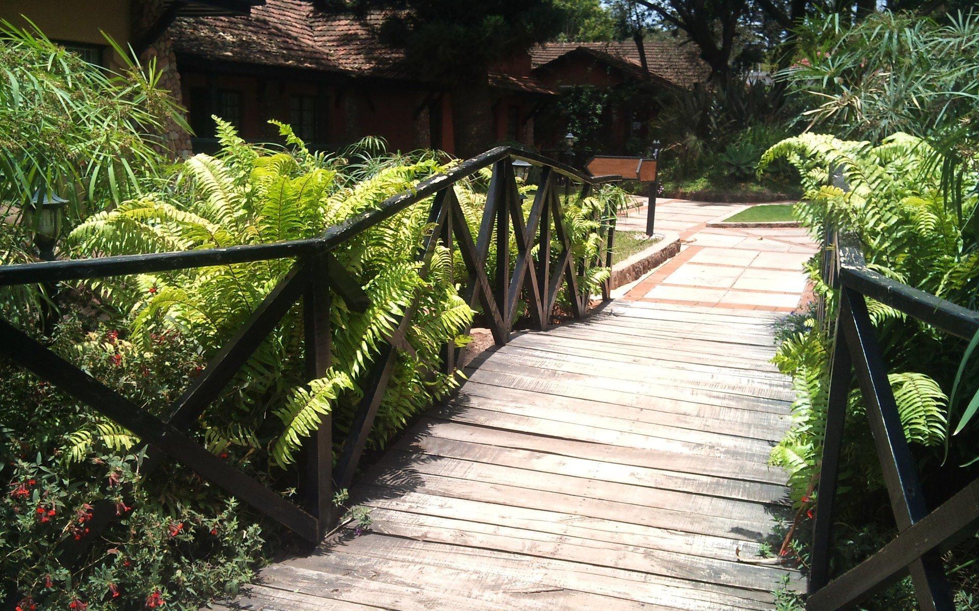 Kingdom Gardens Guest House: Walkway