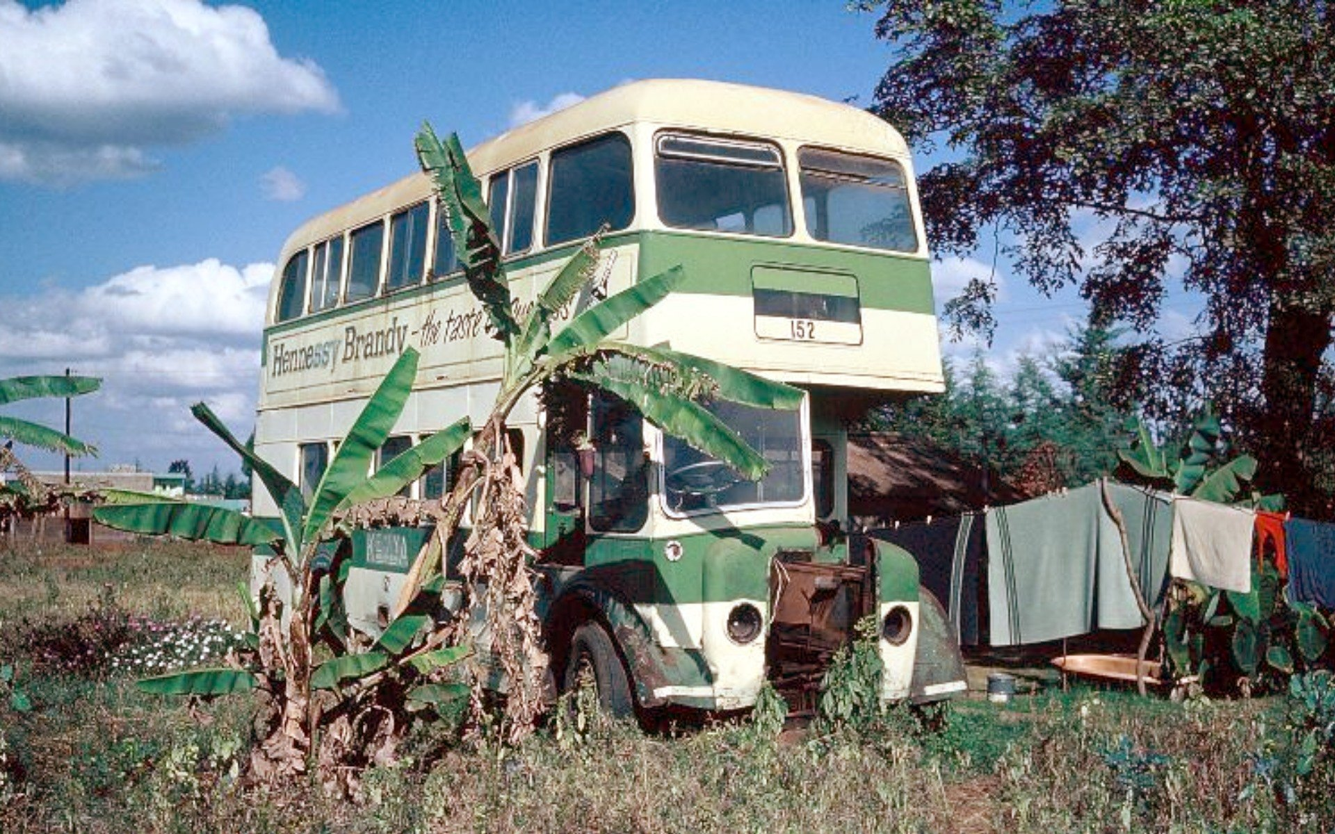 This Kenya Bus Services No.152, seen here in 1973 was a Guy Arab IV model with a Park Royal 70-seat body. The bus was delivered to Nairobi in December 1956 with local registration number KFJ 176. Photo courtesy of Vic Brumby.