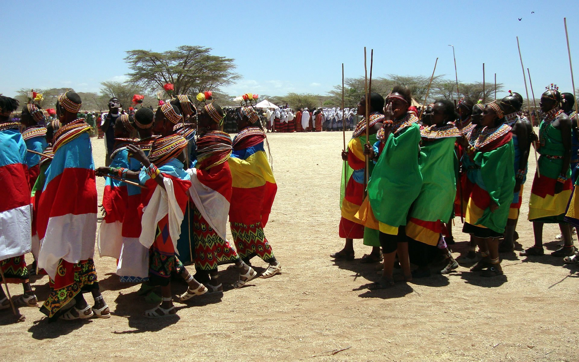 The Samburu still cherish and retain the customs and ceremonies of their forebears, unlike most other tribes in Kenya.