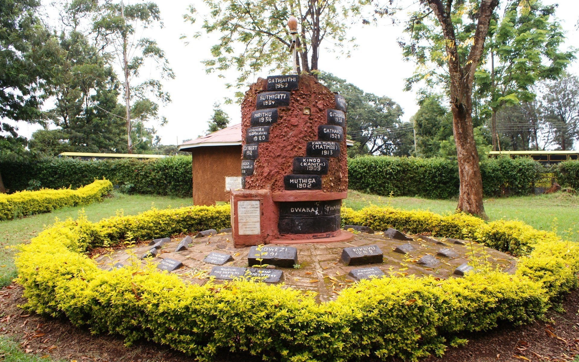 This rondavel was erected in Minnie's honour as part of the mission's centenary celebrations.