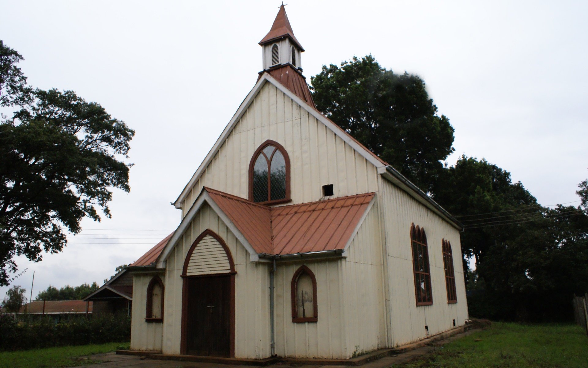 The Scott-Watson Memorial Chapel adjacent to the Church of the Torch is named after him
