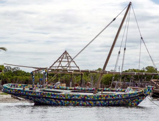 In 2016 when Ben and his FlipFlopi crew decided to build a boat entirely from recycled plastic and then sail it to the Cape, everyone thought they were mad.