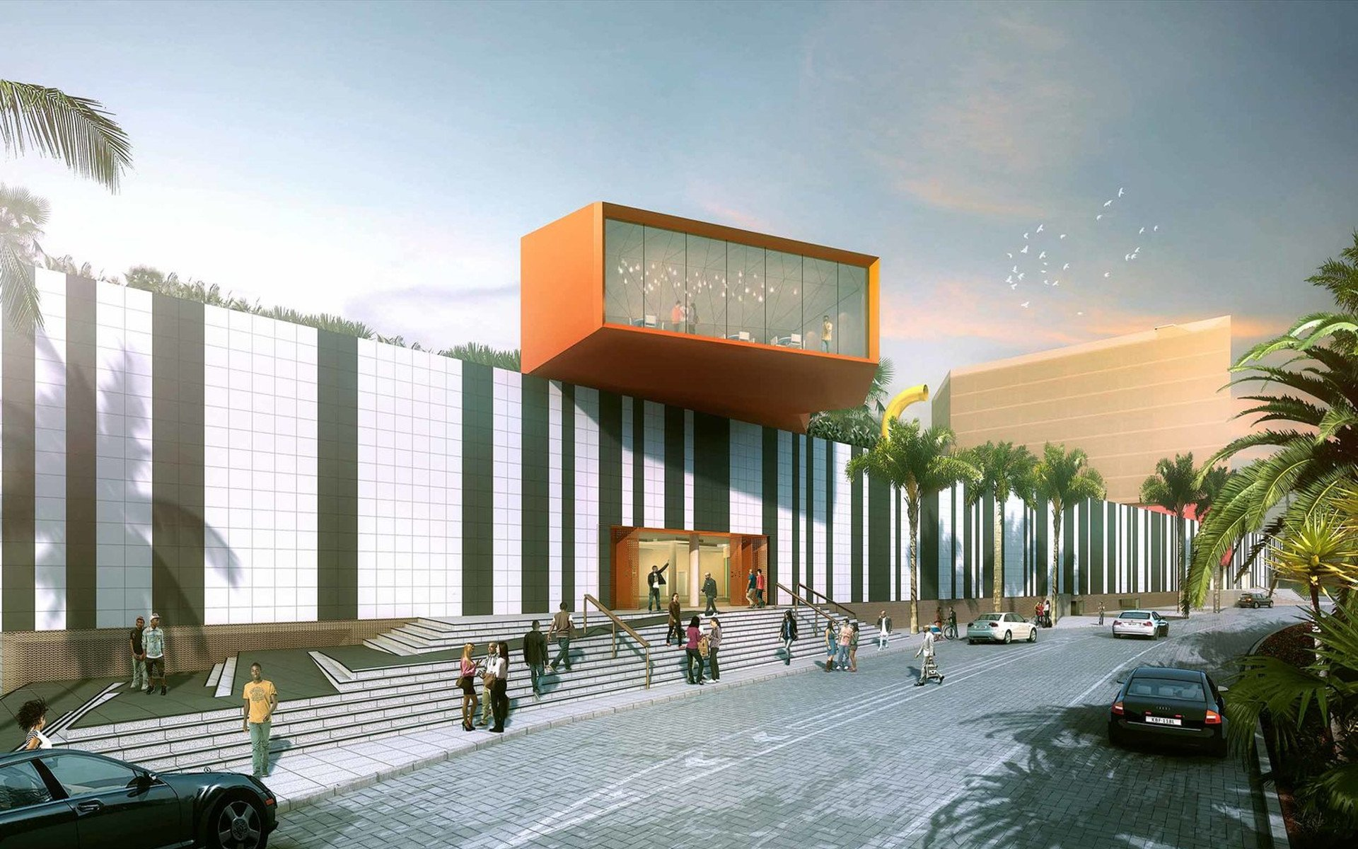 The Beacon will be the largest mall space on the periphery of the City Centre.