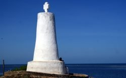 The Vasco da Gama Pillar in Malindi is a famous monument today mainly because of what it represents - the age of the dawn of exploration.