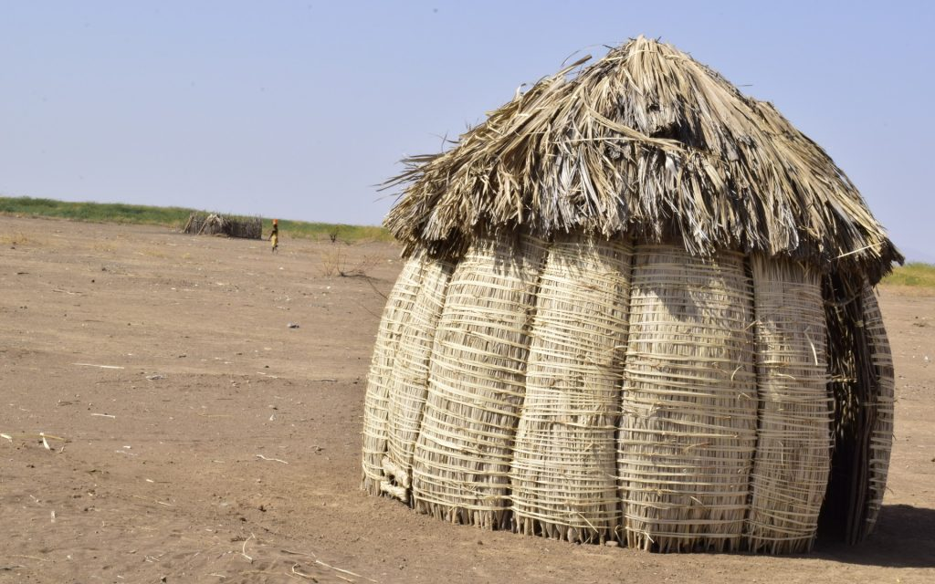 As you move around the villages, you will notice the same weaving technique used in the building materials for the manyattas.