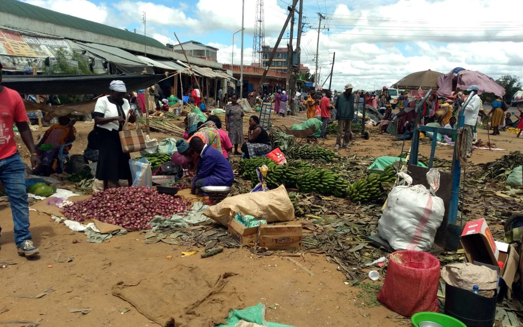 Kabati market is a more liberal and diverse market, perhaps because it is nearer the more larger Thika town.