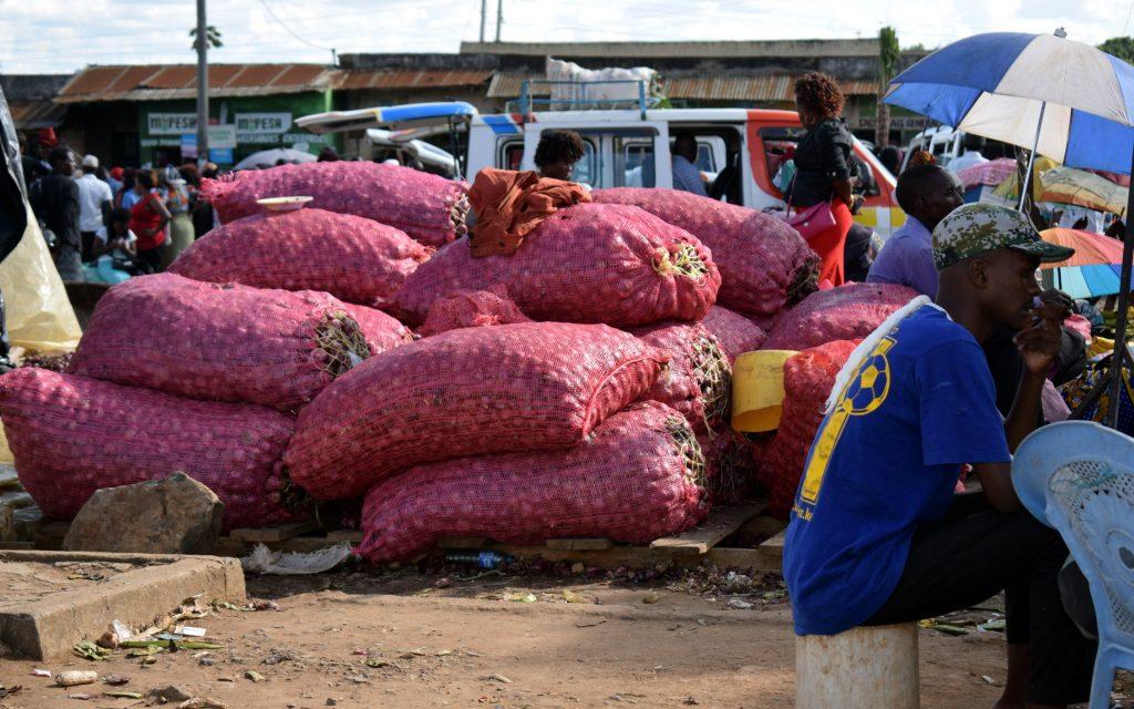 Kalundu market in Kitui town opens its doors on Mondays on market day.