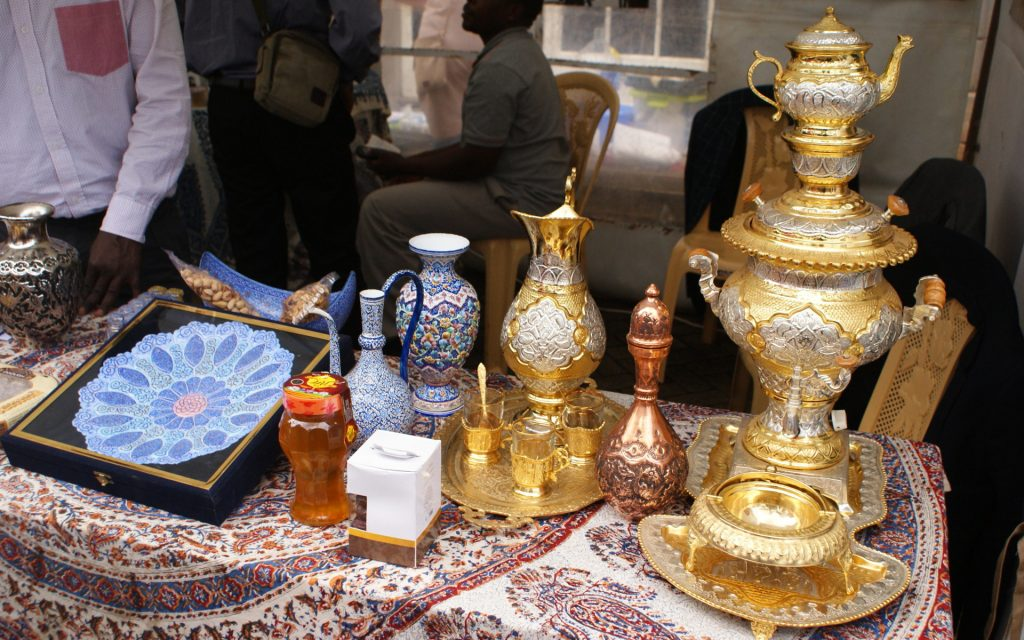 There were great cultural items on display at the various booths of the 7th Nairobi International Cultural Festival.