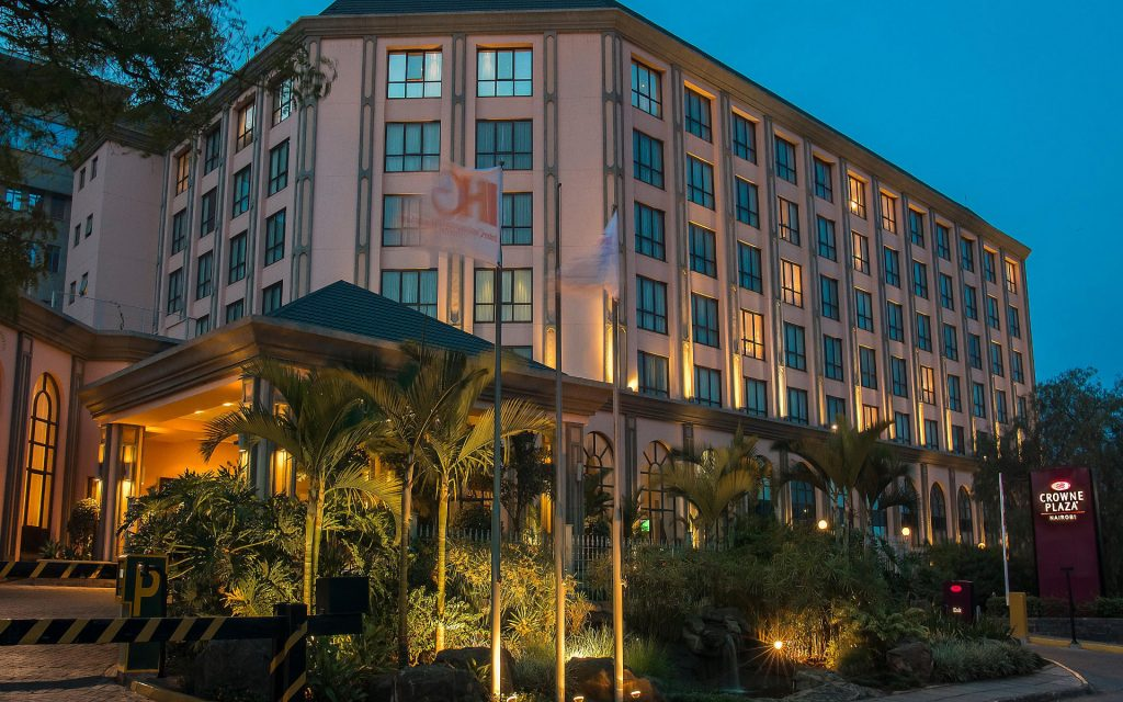 The Crowne Plaza Nairobi in Upper Hill bagged this category for the second year running.
