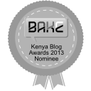 NOMINEE: Kenyan Blog Awards 2013