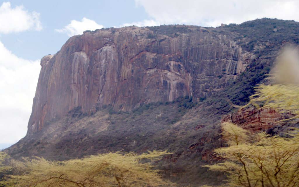 Mount Ololokwe, also known as Ol Donyo Sabache, is a beautiful rocky mountain that suddenly rises from the vast plains that surround the Isiolo-Marsabit route.