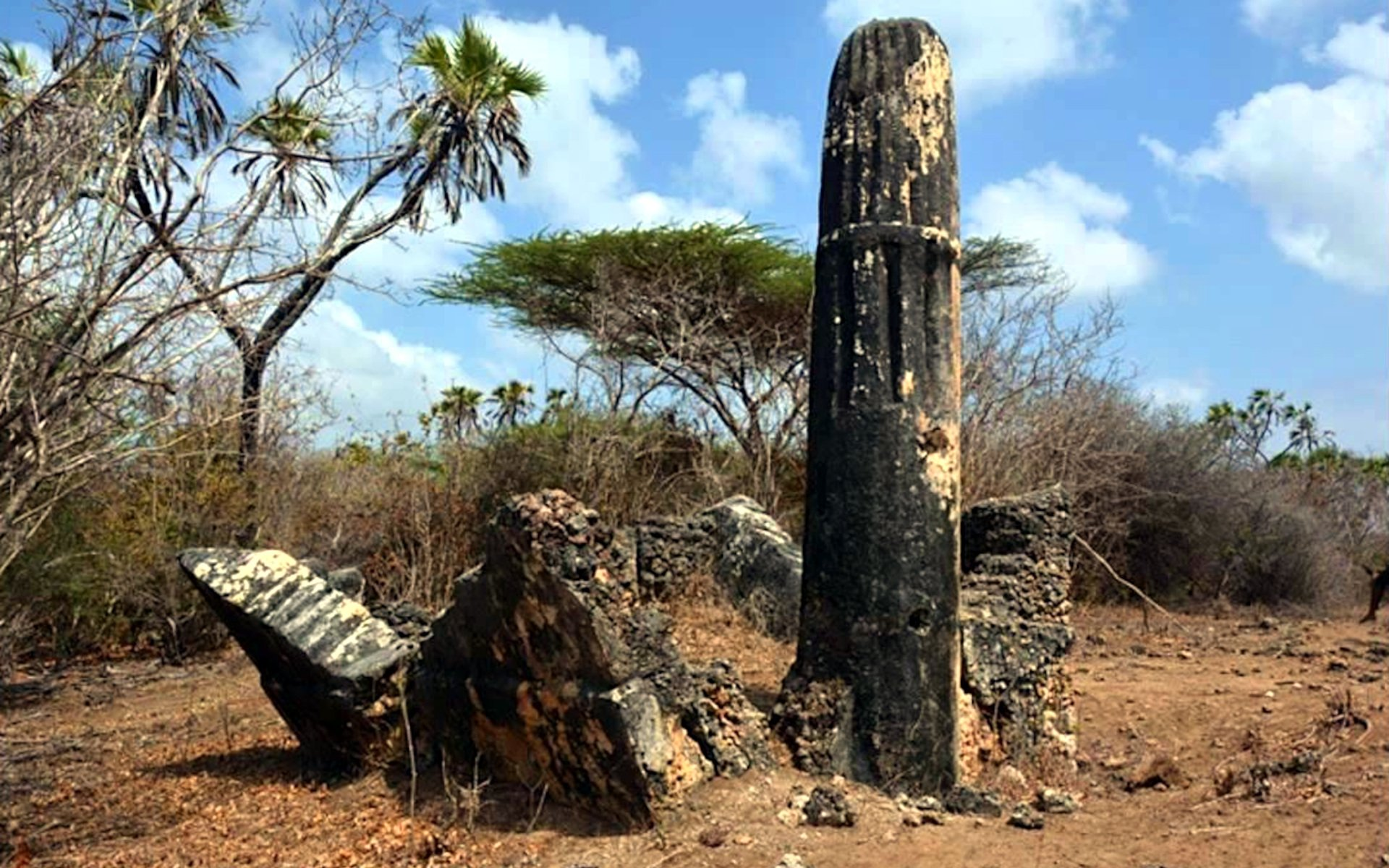 Shanga Ruins lie off the Kenyan Coast on Pate Island, which is part of the Lamu Archipelago. Most also see them as an archaeological site.