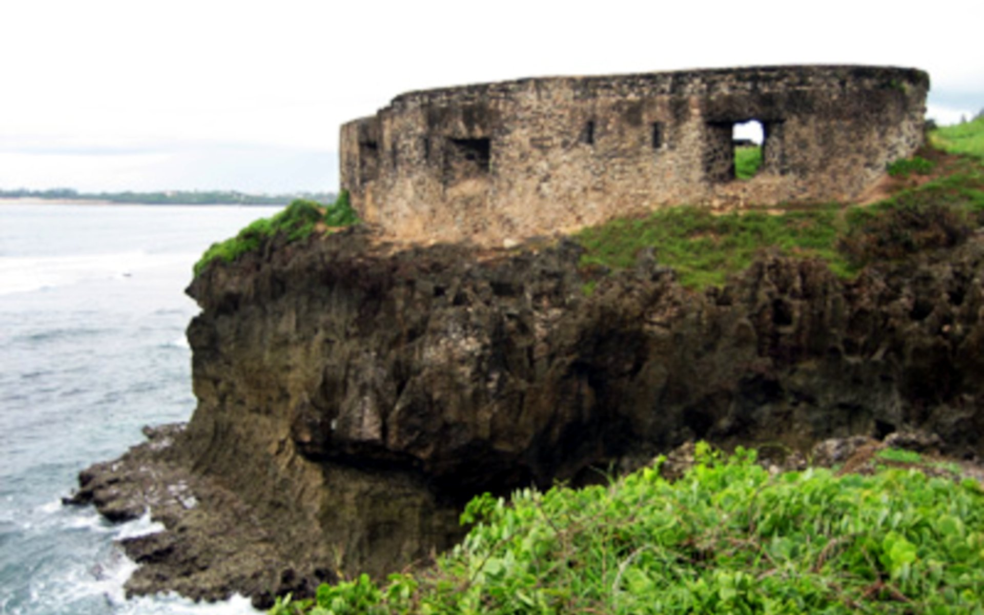 In Mombasa County, just a few metres from the Likoni Ferry along Mama Ngina Drive lies an ancient fort, or what remains of it. The St. Joseph's Fort dates further back than Fort Jesus. Some people even claim that the fort still existed before Vasco da Gama stepped into Mombasa in the 15th century.