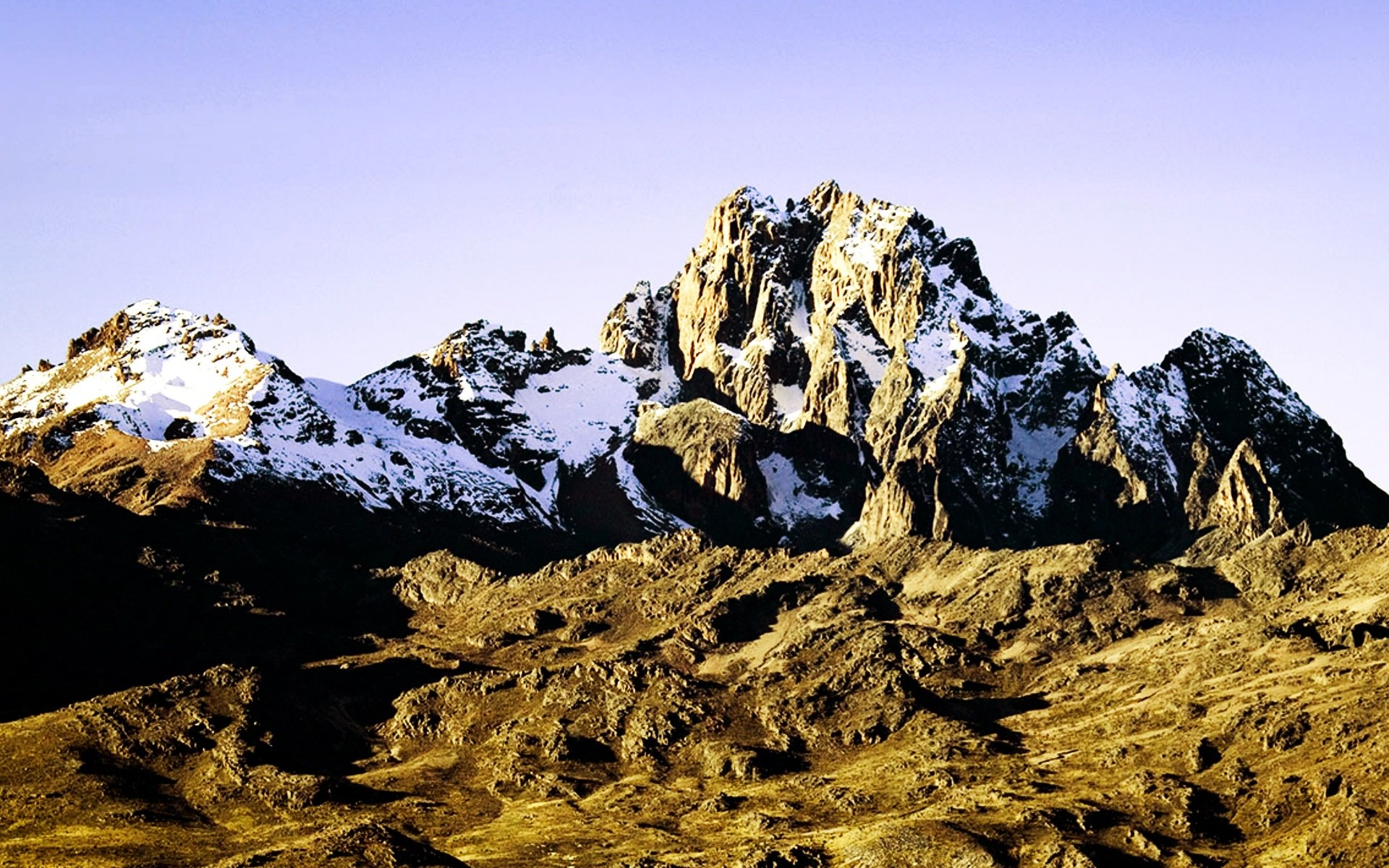 Mount Kenya National Park prides itself for being the home of Mount Kenya, Africa's second tallest mountain standing 5,199 M above the sea level.