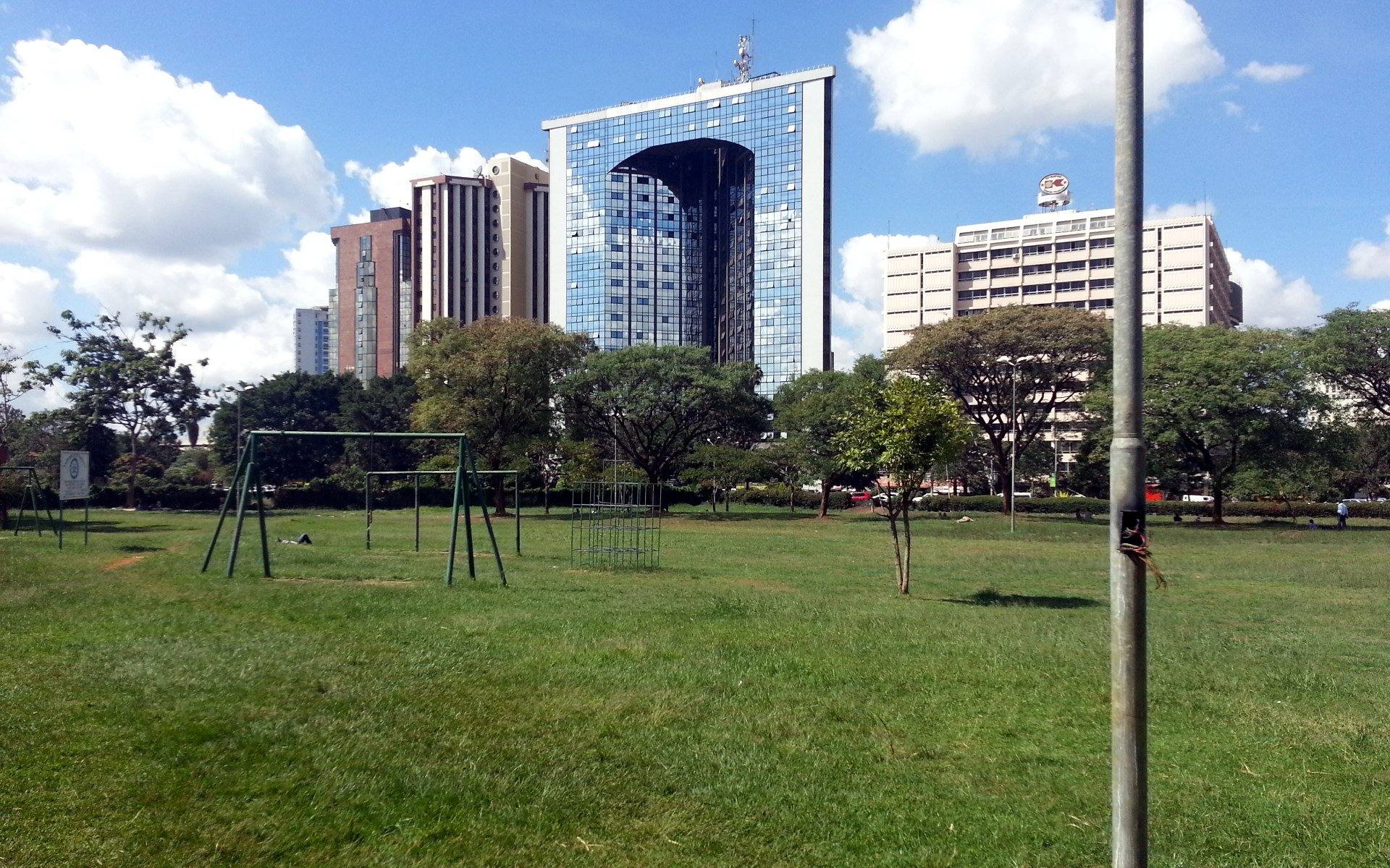 Many Nairobians think Central Park is an extension of its better-known neighbour, Uhuru Park. It is not. The park will soonn benefit from smart lights.