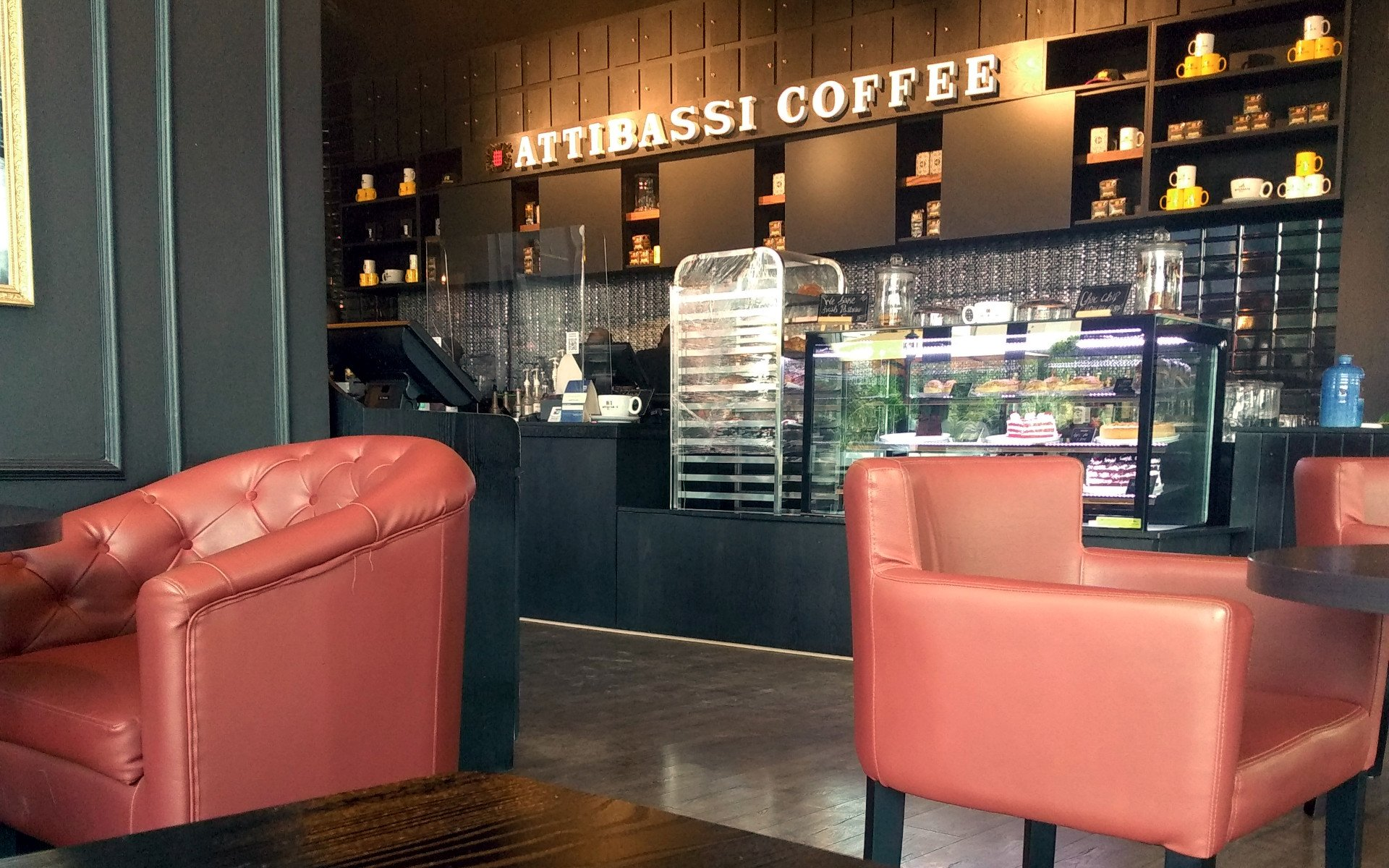 Attibassi Coffee on the ground floor of the stylish 195M Britam Tower along Hospital Road in UpperHill is the brainchild of two Italian confectioners, Agostino Atti and Marco Bassi (hence the name Attibassi).