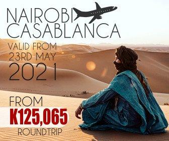Check out this unbeatable Nairobi to Casablanca fare