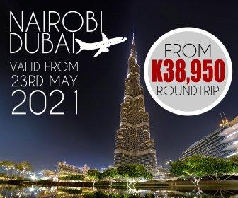 Check out this unbeatable Nairobi to Dubai fare