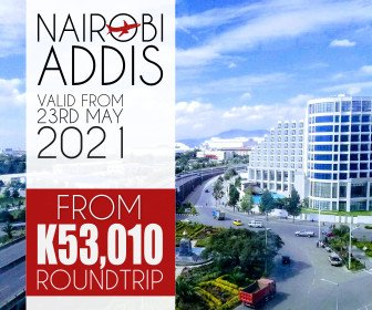 Check out this unbeatable Nairobi to Addis Ababa fare