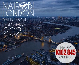 Check out this unbeatable Nairobi to London fare